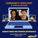 Mariah Inger & Warona Setshwaelo