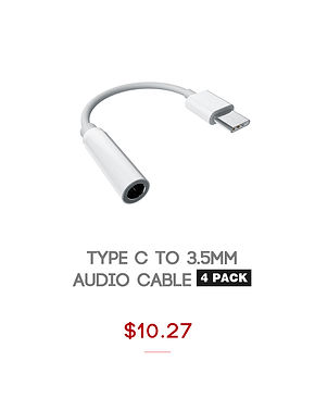 type-c to 3.5mm