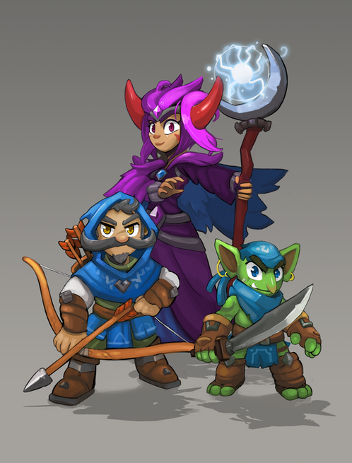 Toon Style Character Concepts