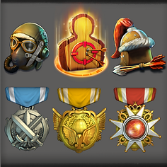 Dominations Rendered Icons
