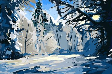 Winter Speed Painting