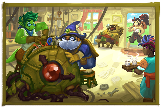 Braveguard Labratory Illustration