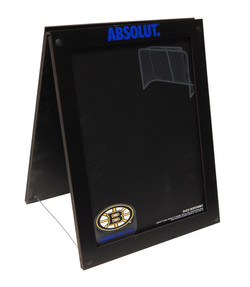 Absolut & Bruins Table-Top A-Frame 1