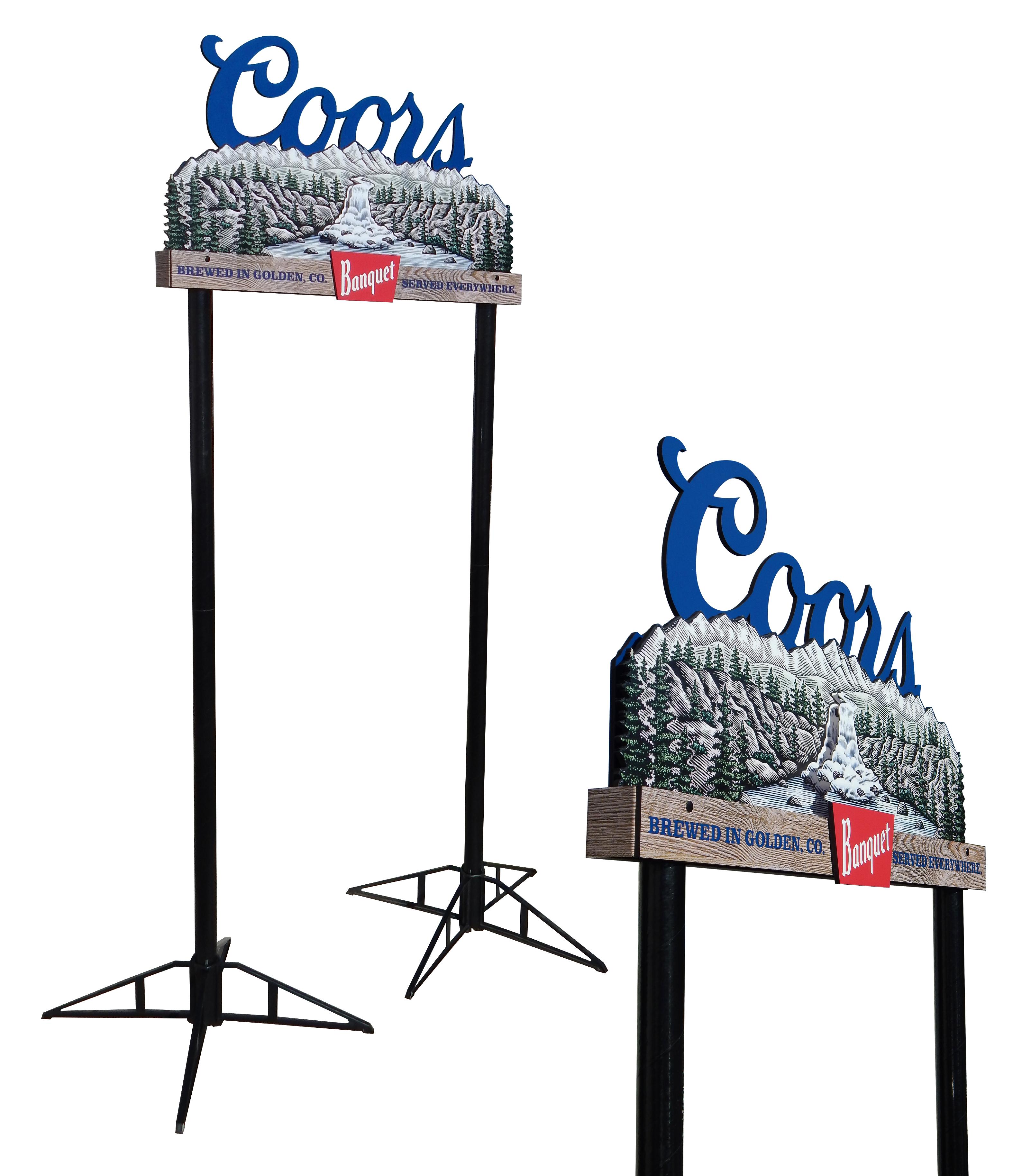 Coors Banquet Pole Topper 3804 copy