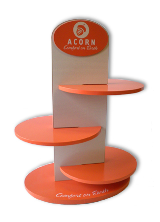 Acorn Shoe Display