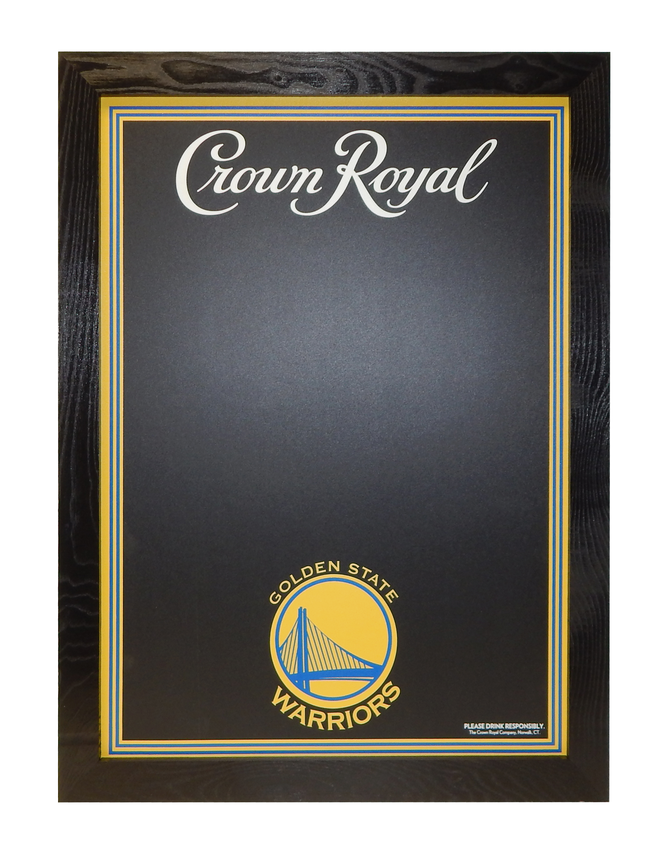 HAL-197 Crown Royal Warriors Chalkboard.