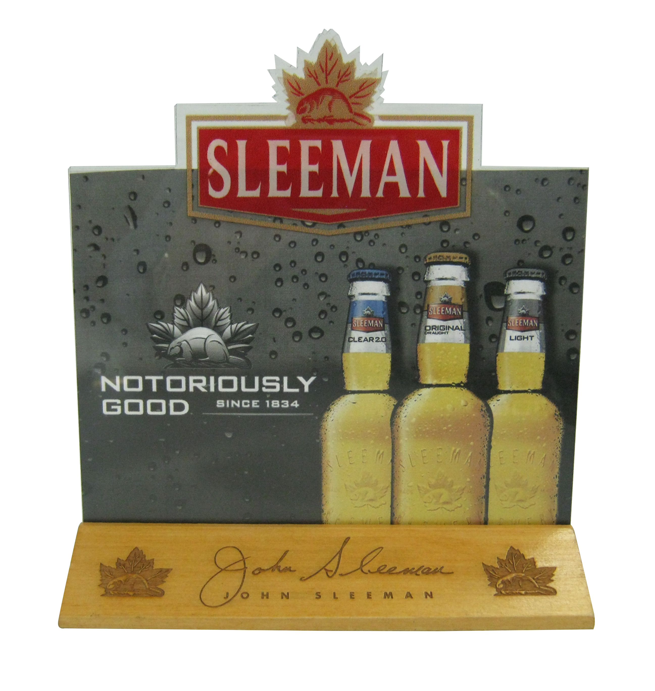 Sleeman Table Tent Holder