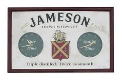 Jameson Mirror Clock