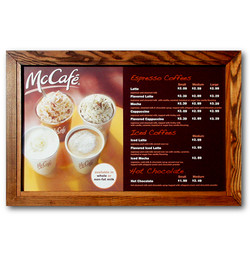 McDonald's Menu Board