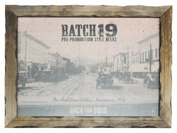 Batch 19 Framed Poster