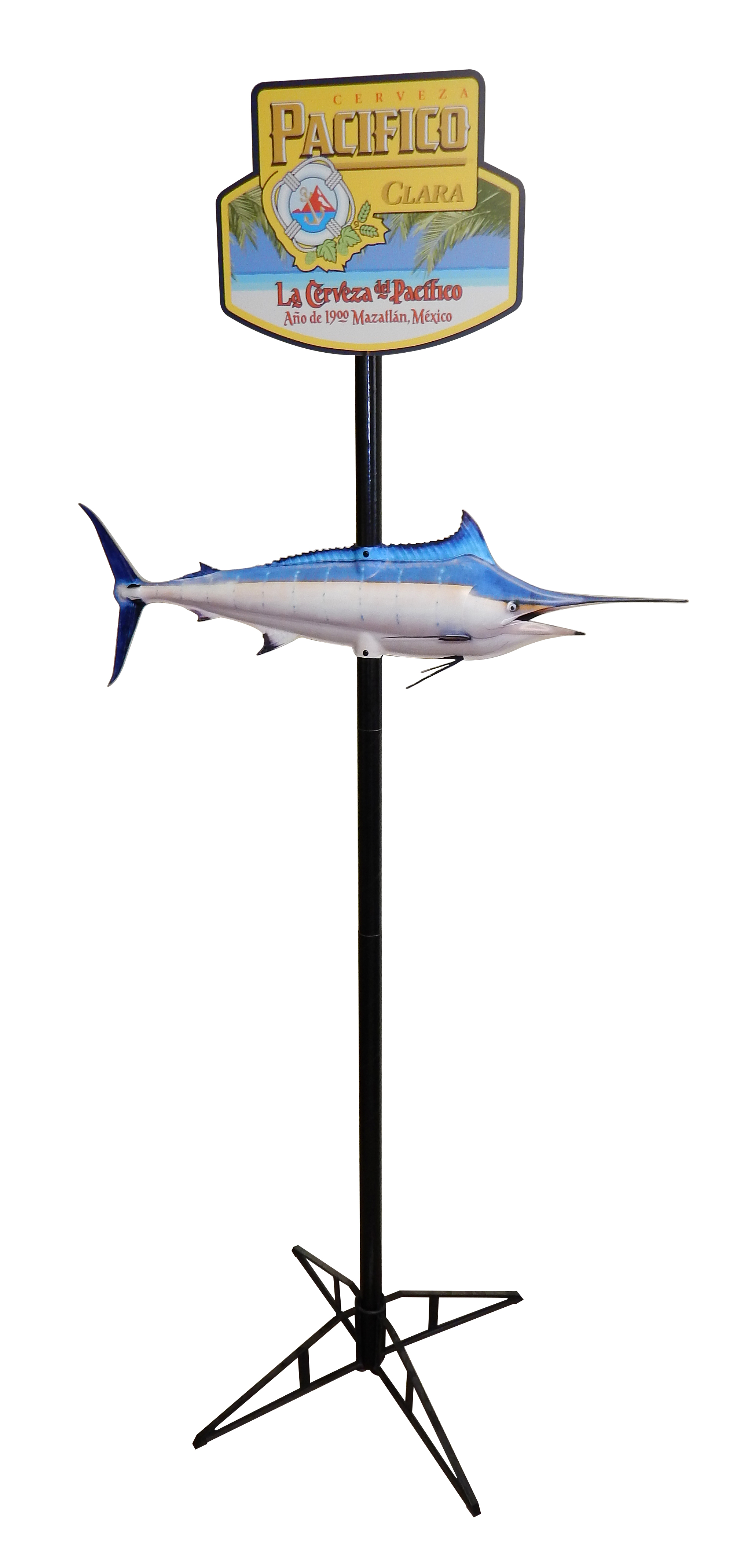 HPS-08 Pacifico Marlin Pole Topper 3739.