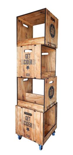 Citizen Cider Apple Crate Display
