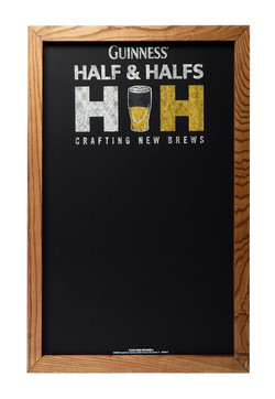 ADM-07 Guinness Half & Halfs Chalkboard.