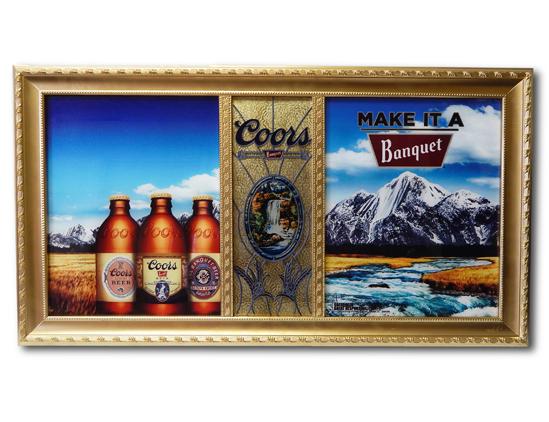 Coors Banquet Custom Frame