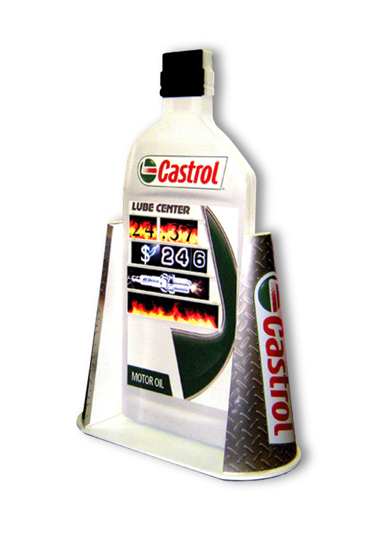Castrol Oil Display