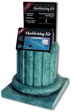 Marbleizing Coulmn Display