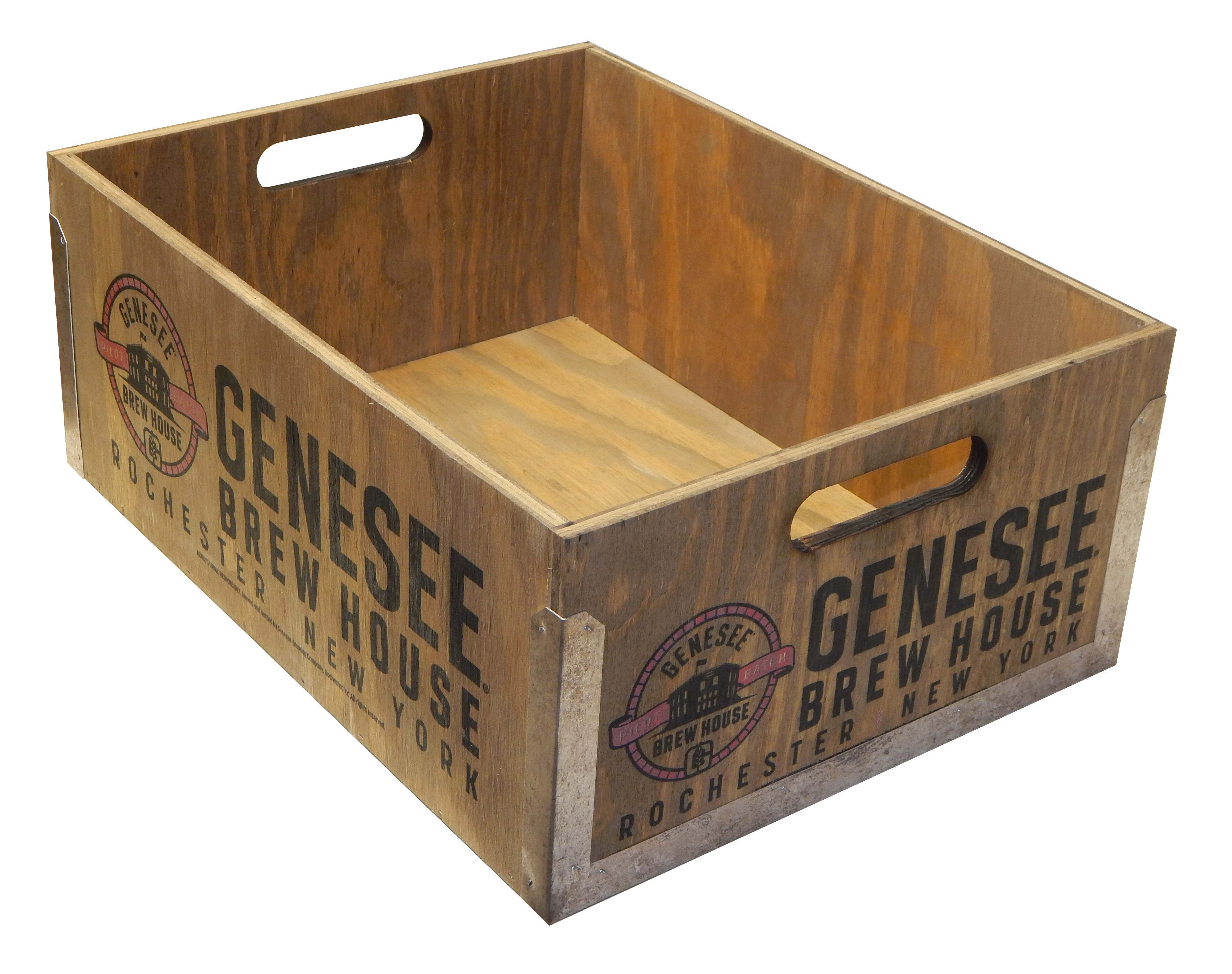 Genesee Wooden Crate