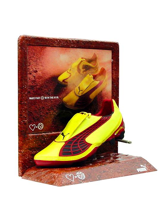 Puma Shoe Display