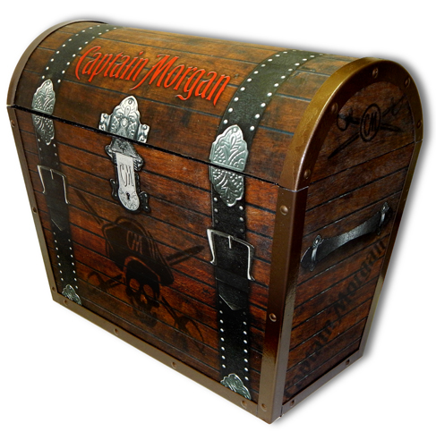 Captain Morgan Treasure Chest