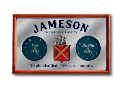 GRA-18 Jameson Double Level Clock