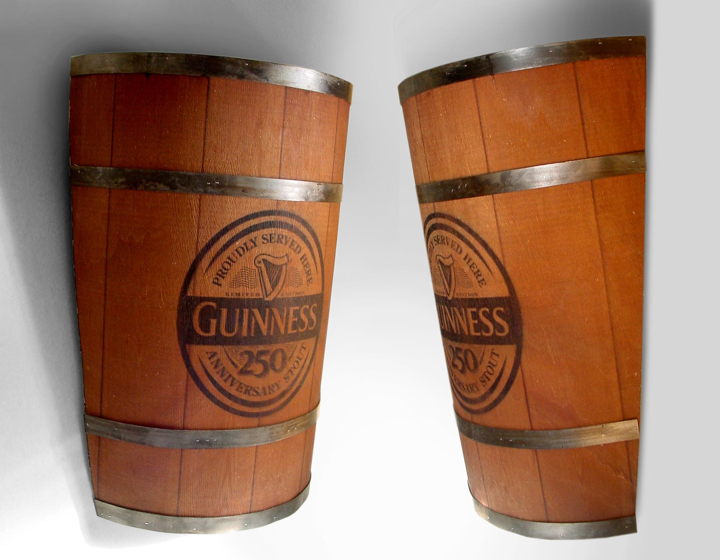 Guinness Barrel Lights