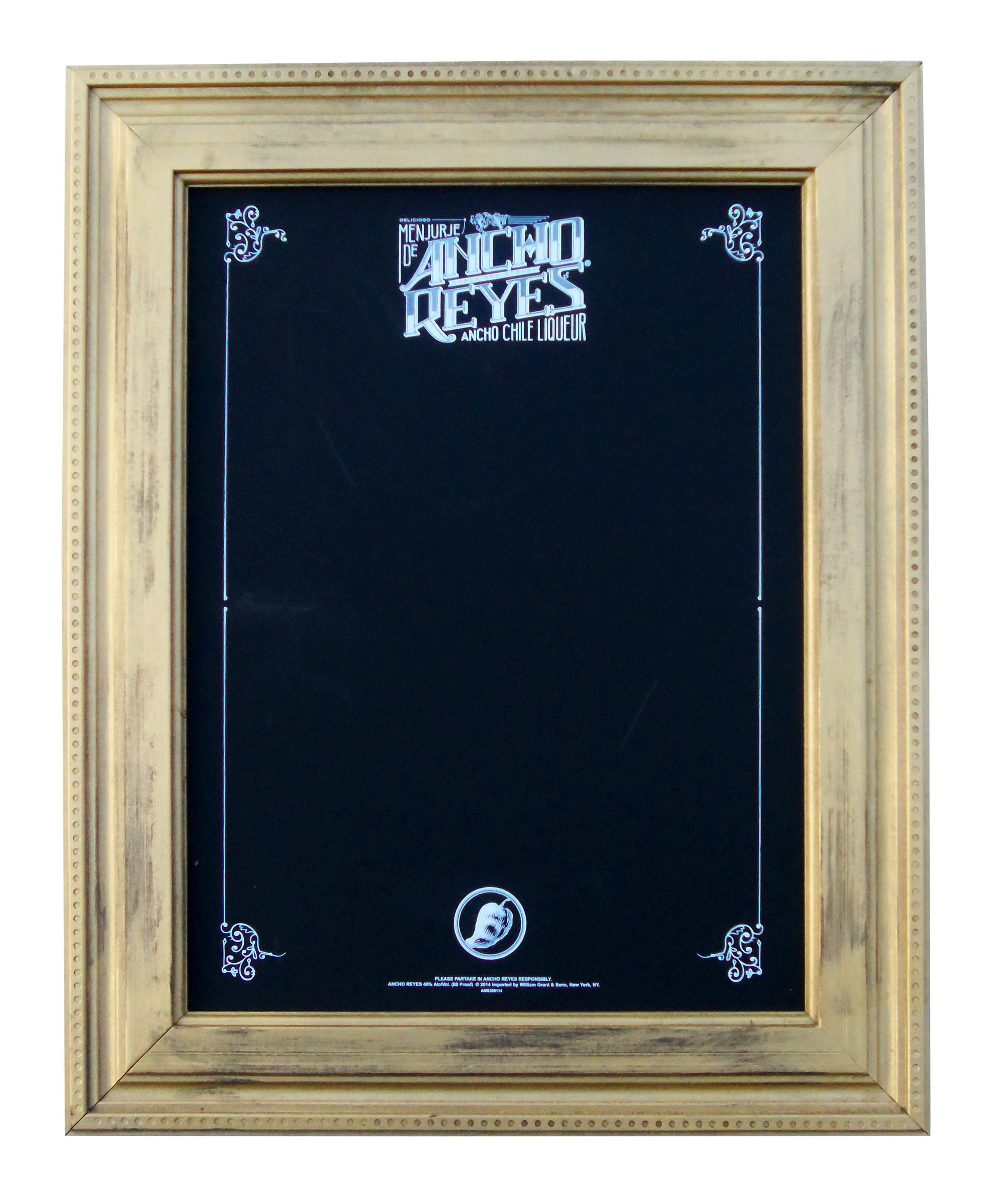 Ancho Reyes Chalkboard