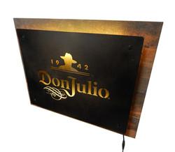 Don Julio LED metal sign