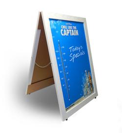Captain Morgan Thermometer Dry Erase A-Frame