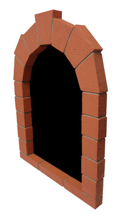 Foam Brick Chalkboard