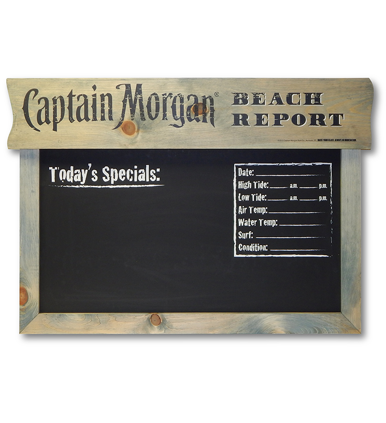 Captain Morgan Beach Report