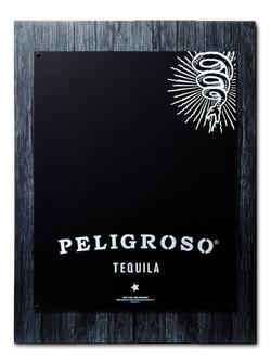 Peligroso Plank Chalkboard