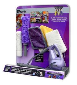 Shark Steamer Display