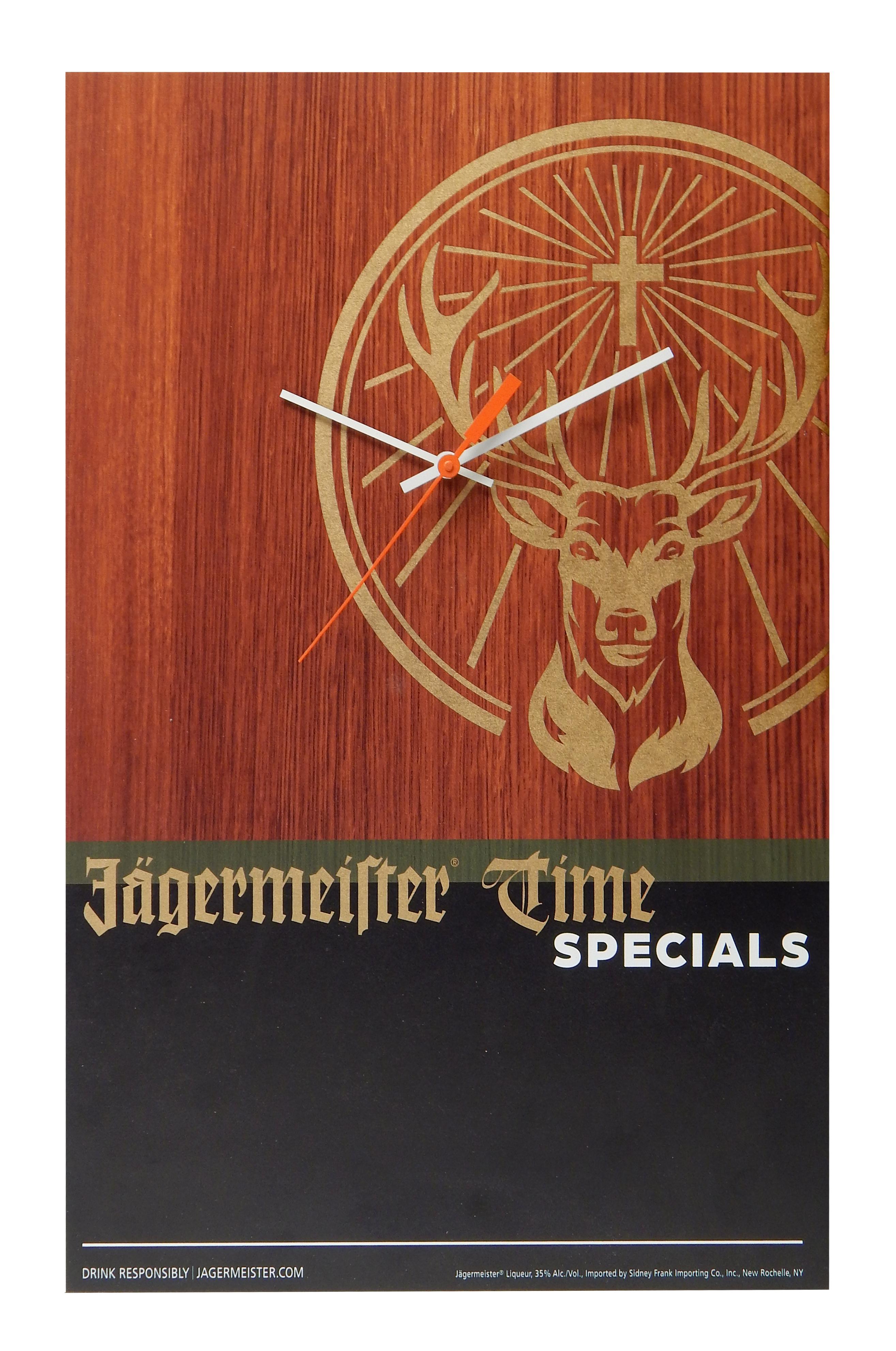 Jagermeister Chalkboard Clock copy