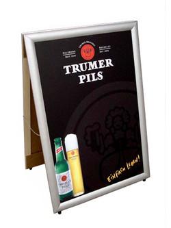 Trumer Pils A-Frame