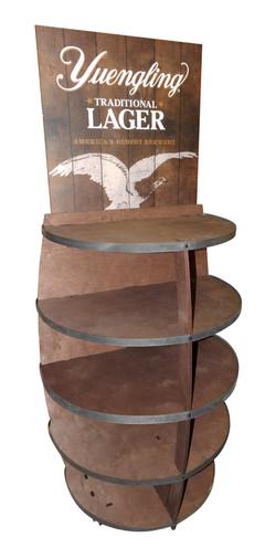 Yuengling Barrel Rack