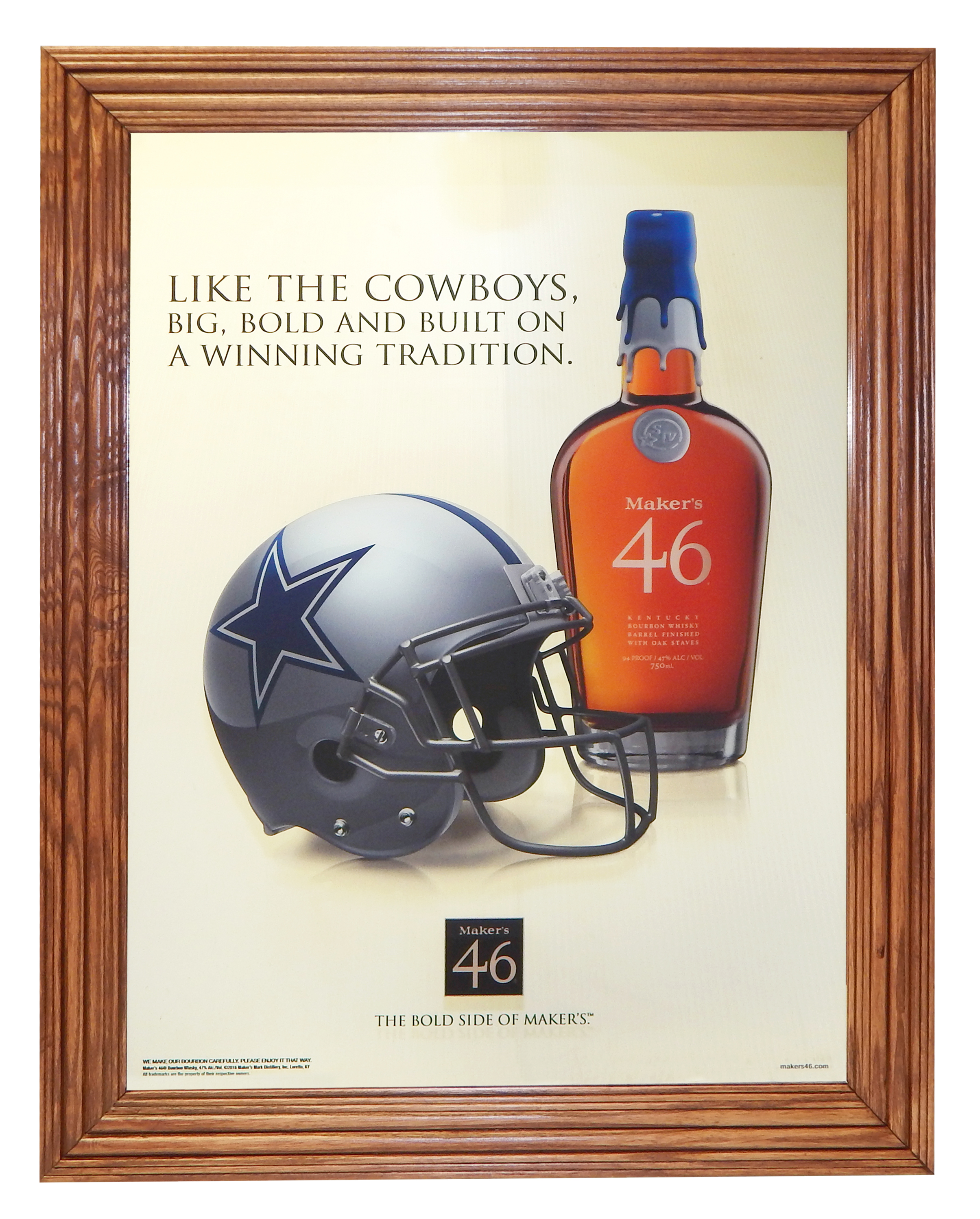 Maker's Mark & Cowboys Mirror