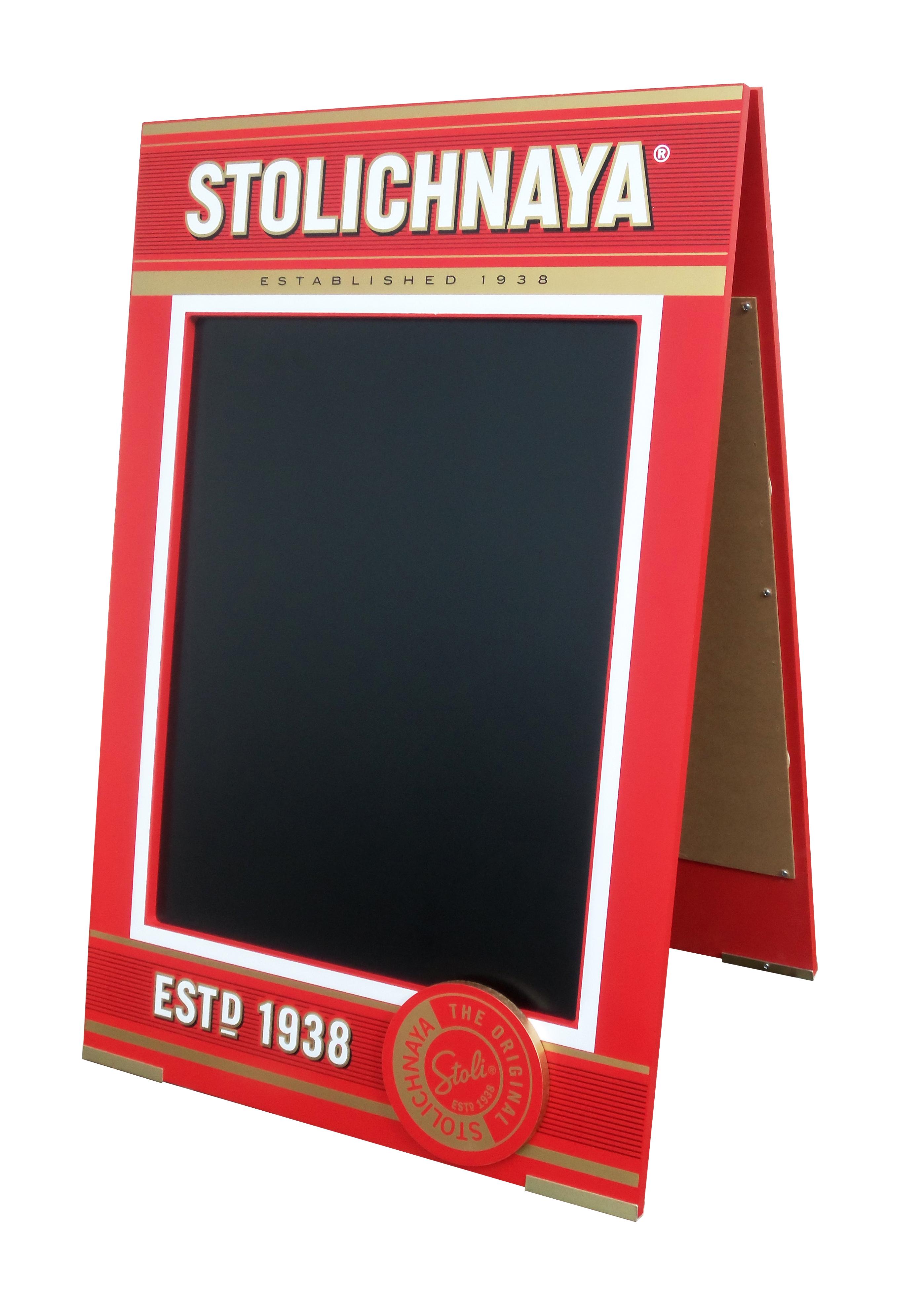 Stoli A-Frame Chalkboard