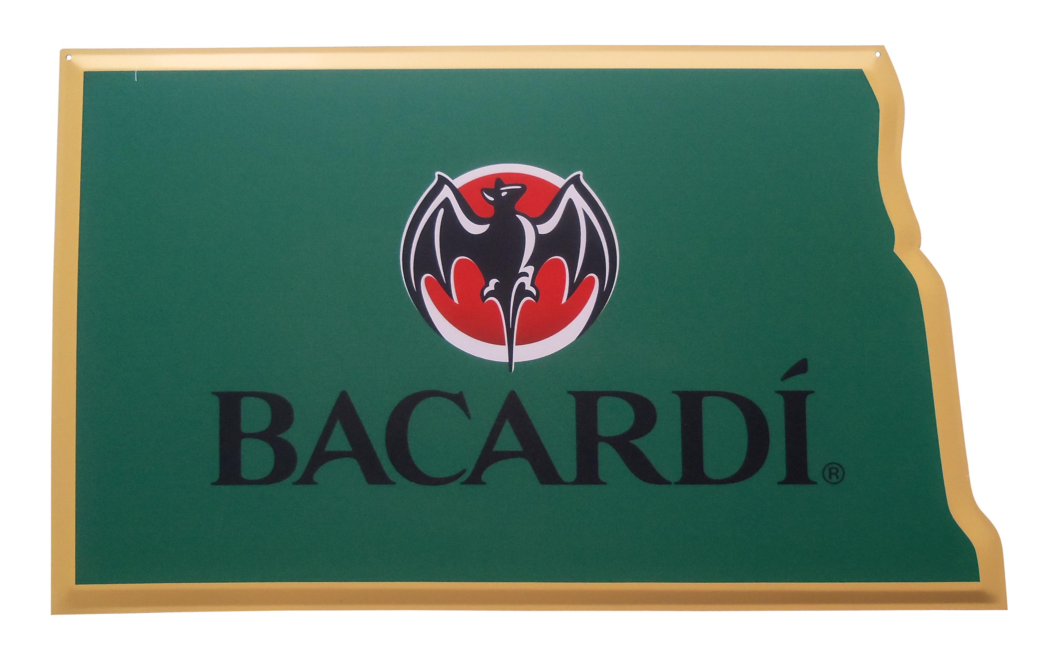 Bacardi North Dakota Tacker Sign