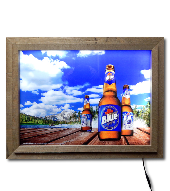 Labatt Blue LED Sign