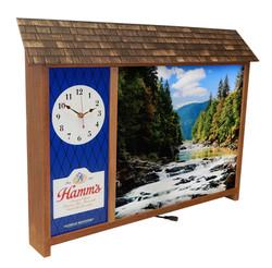Hamm's Vintage LED Clock 3796