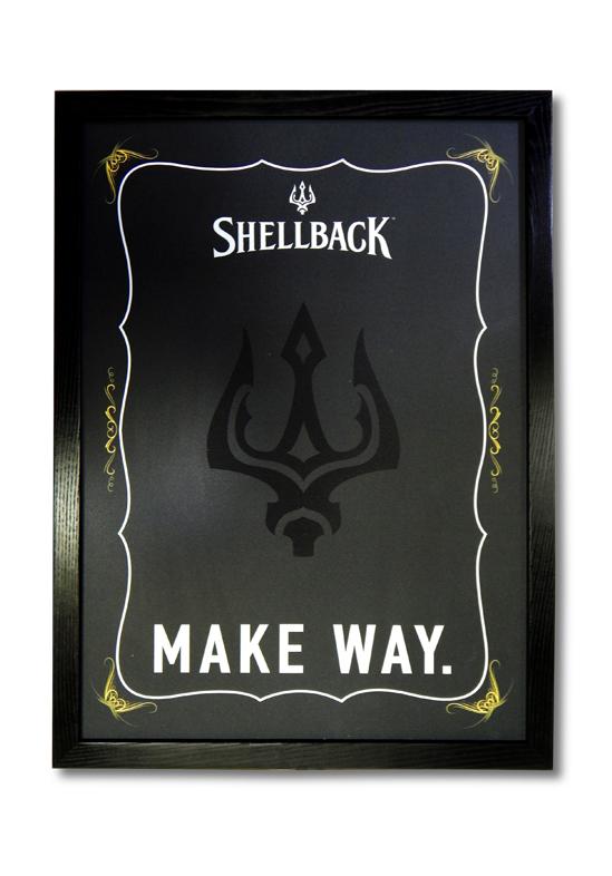 Shellback Chalkboard