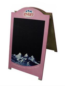Evian A-Frame