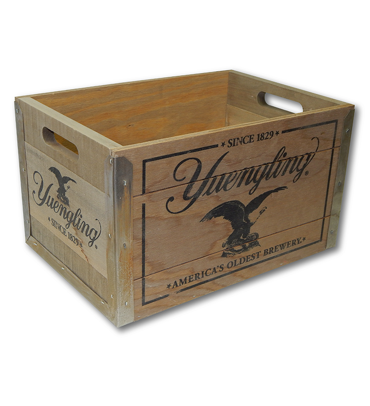 Yuengling Wood Crate