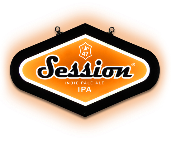 Session IPA LED Sign