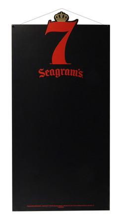 Seagram's 7 Hanging Chalkboard 3-16-18 (