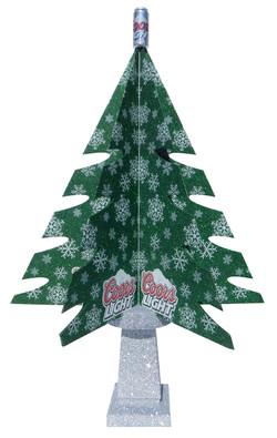 Coors Light Christmas Tree