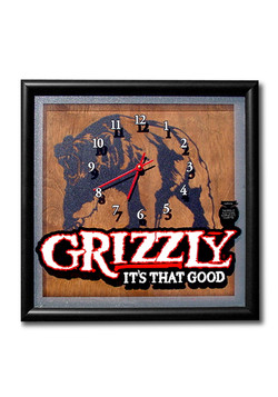 Grizzly Analog Clock