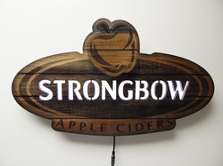 Strongbow LED Sign