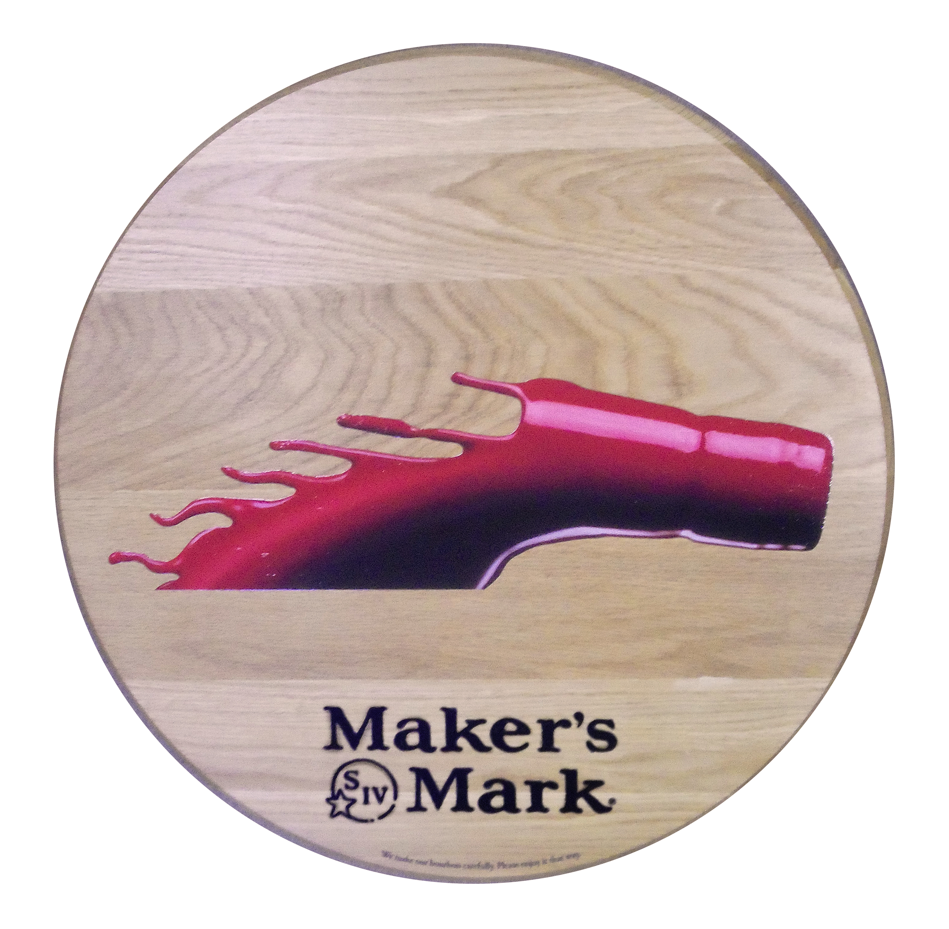 Maker's Mark Horse Barrel Head