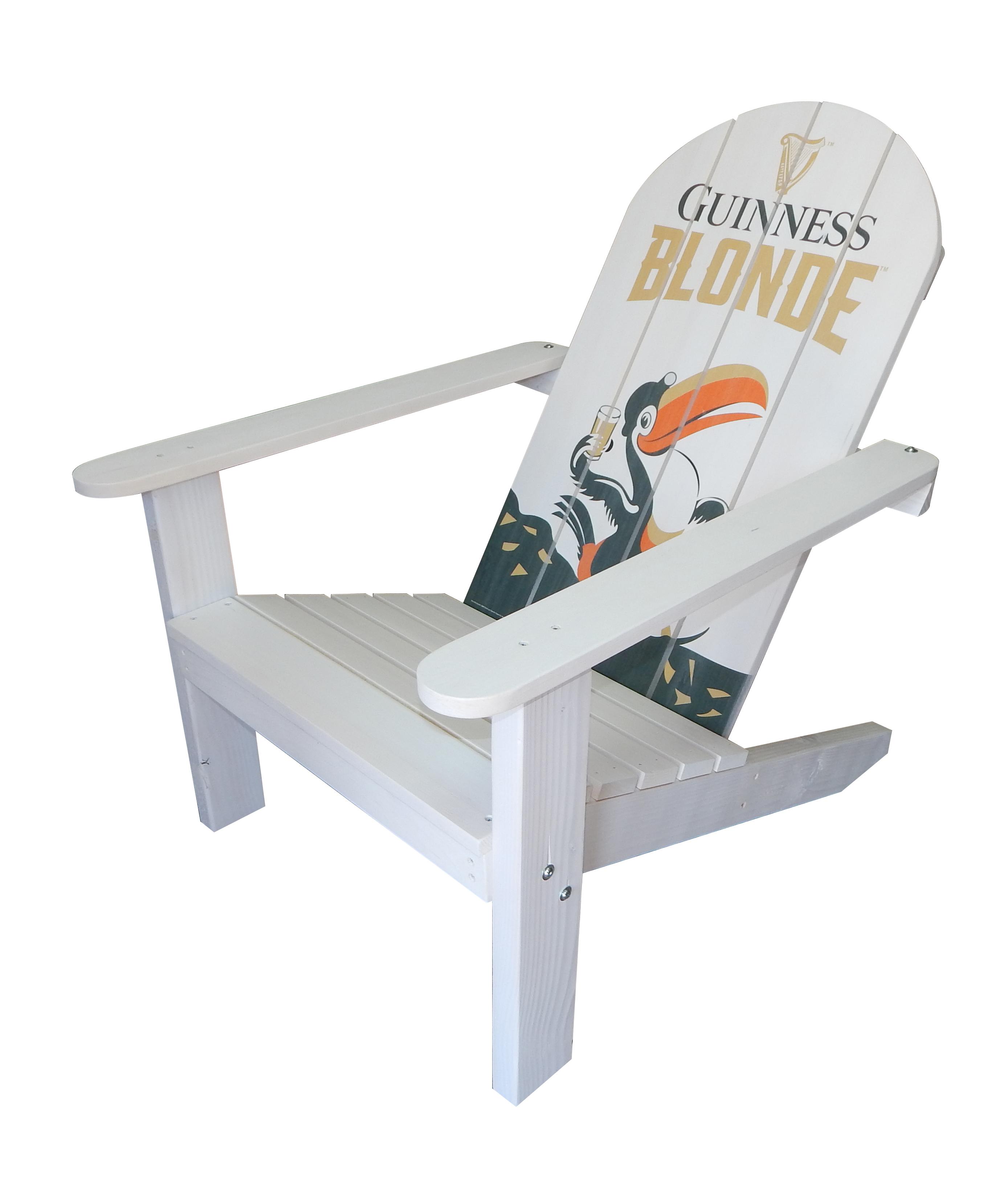Guinness Blonde Adirondack Chair
